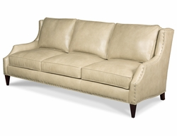Athena Leather Sofa by Bradington-Young