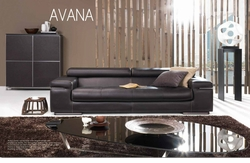 Avana Leather Sofa by Natuzzi Italia