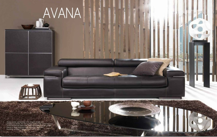 avana leather sofa by natuzzi italia labor day sale. Black Bedroom Furniture Sets. Home Design Ideas