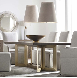 B Modern Astor Dining Table by Bassett Furniture