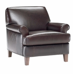 B549 Armchair in 15WB Top Grain Leather by Natuzzi