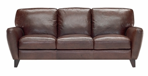 B568 Natuzzi Editions Leather Sofa