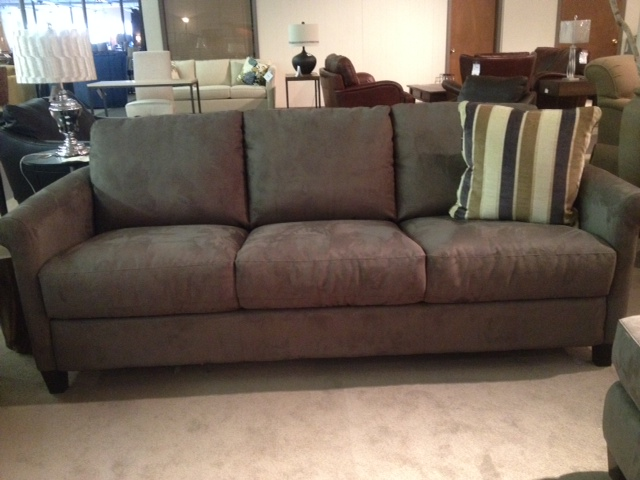B580 Large Sofa Bed in Grey Fabric by Natuzzi