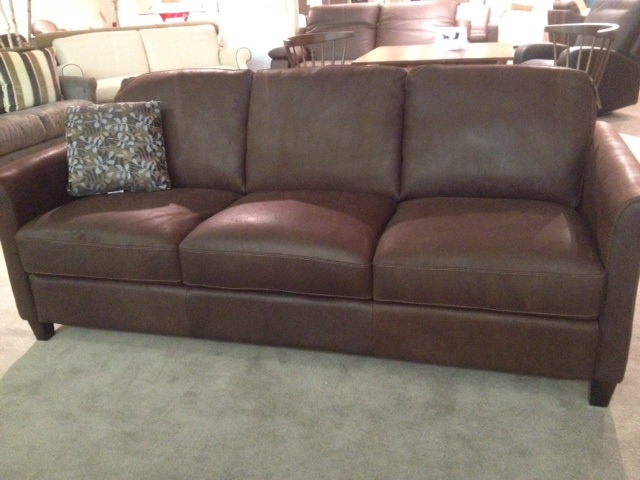 B580 Sofa in Brown Leather by Natuzzi Editions - Labor Day Sale!