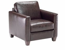 B591 Chair in 10KQ Leather by Natuzzi