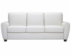 B615 Natuzzi Editions Leather Sofa