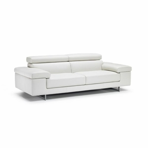 B619 Natuzzi Leather Sofa