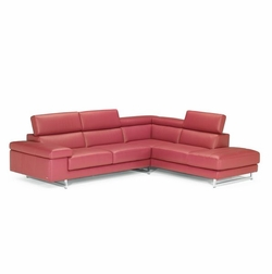 B619 ver.2 Natuzzi Leather Sectional Sofa