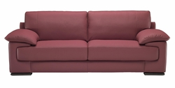 B684 Natuzzi Editions Leather Sofa