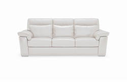 B757 064 20JK Sofa in Dream Light Taupe Leather by Natuzzi
