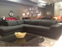 B856 Natuzzi Editions Modern Sectional Sofa