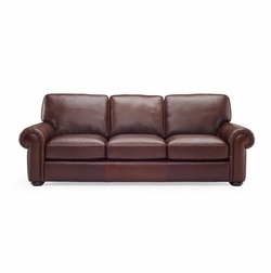 B861 Natuzzi Leather Sofa