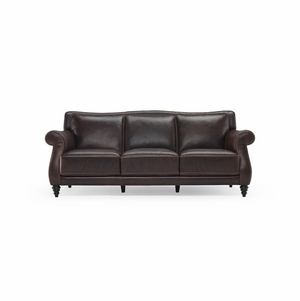 B872 Natuzzi Editions Leather Sofa