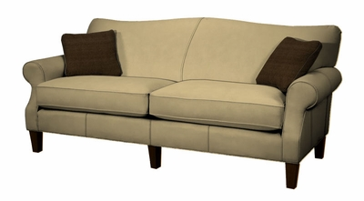 Barton Condo Size Sofa By Norwalk Furniture Sofas And Sofa Beds