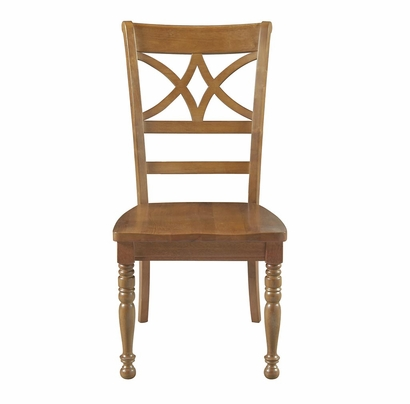 Bassett Custom Diamond Back Dining Side Chair