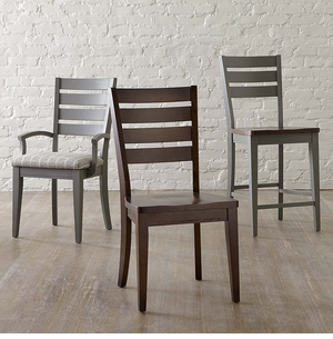 Bassett Custom Low Contemporary Dining Side Chair