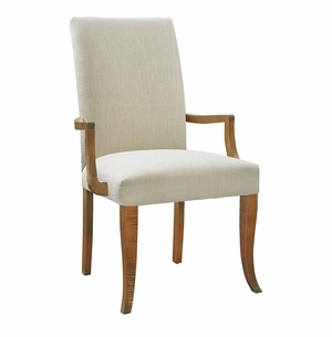 Bassett Upholstered Dining Arm Chair