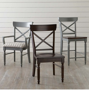 Bassett X Back Dining Side Chair