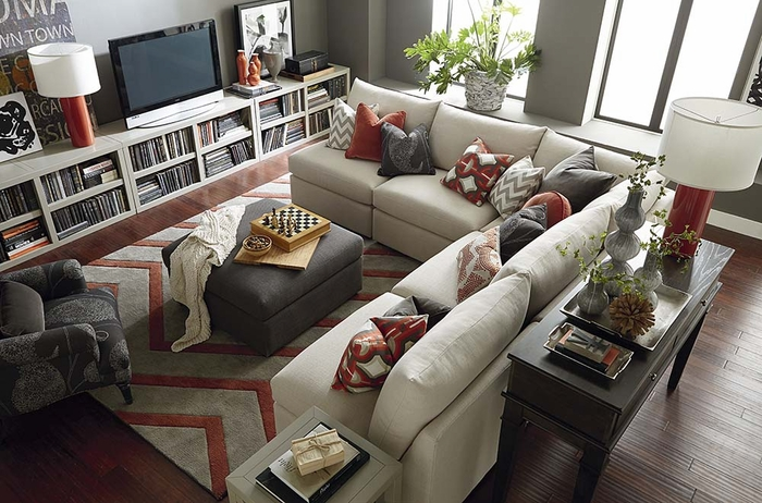 Click to enlarge : bassett furniture sectional - Sectionals, Sofas & Couches