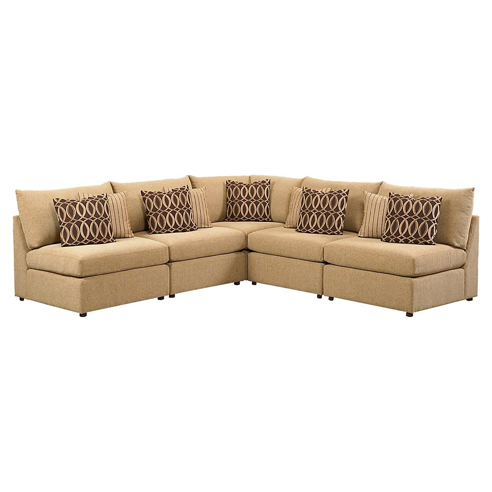 Beckham l shaped sectional sofa by bassett furniture for Bassett furniture