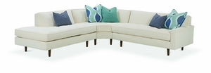 Brady Sectional Sofa by Rowe