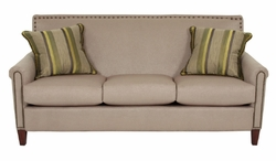 Braxton Fabric Sofa by Norwalk Furniture