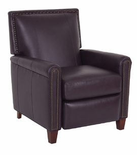 Braxton Leather Chair by Norwalk Furniture