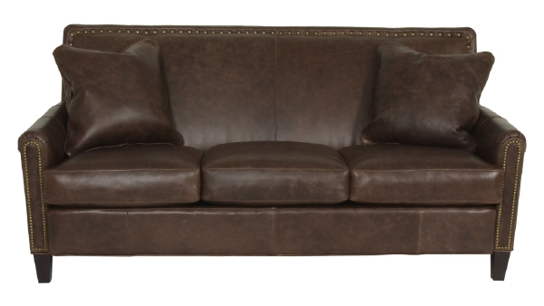 Braxton Leather Sofa By Norwalk Furniture Sofas And Sofa