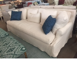 Bristol Down Slipcover Sofa by Robin Bruce