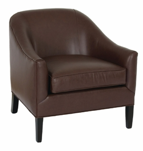 Brockton Chair in Leather