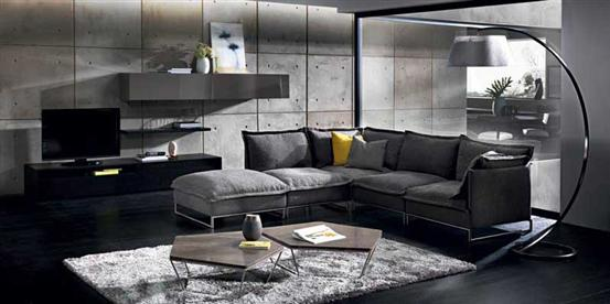 Cambre Sectional Sofa by Natuzzi Italia