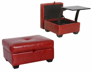 Carson Desk Ottoman by Norwalk Furniture