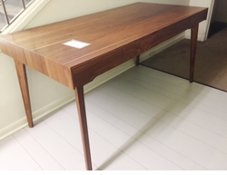 SOLD! Catalina Modern Walnut Desk