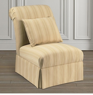 Chandler Slipper Chair by Bassett Furniture