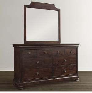 Chateau Double Dresser by Bassett Furniture