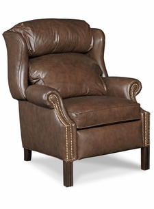 Chippendale Reclining Wing Chair by Bradington-Young
