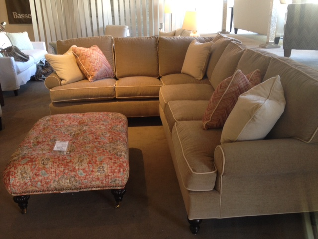 Cindy Sectional Sofa by Rowe