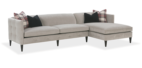 Claire Sectional Sofa by Rowe  sc 1 th 156 : rowe townsend sectional - Sectionals, Sofas & Couches