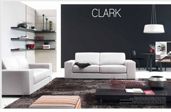 Clark Leather Sofa by Natuzzi Italia
