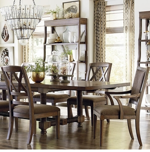 Compass 104quot Dining Table By Bassett Furniture
