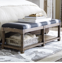 Compass Bench by Bassett Furniture