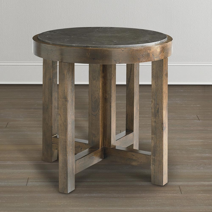 Compass Furniture: Compass Round Lamp Table By Bassett