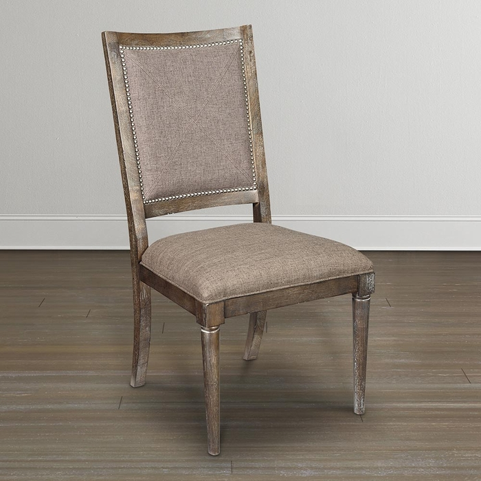 Bassett Furniture Dining Chairs: Compass Upholstered Back Dining Chair By Bassett