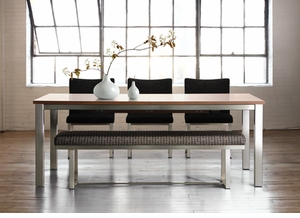 Contemporary Butterfly Leaf Table