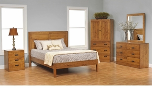 Crossan Amish Panel Bedroom Set