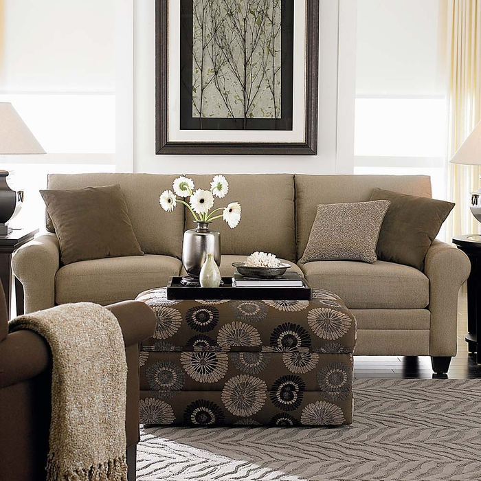Hgtv Cu2 Custom Sofa By Bassett Furniture Bassett Sofas
