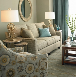 Custom Designed Sofa by Bassett Furniture