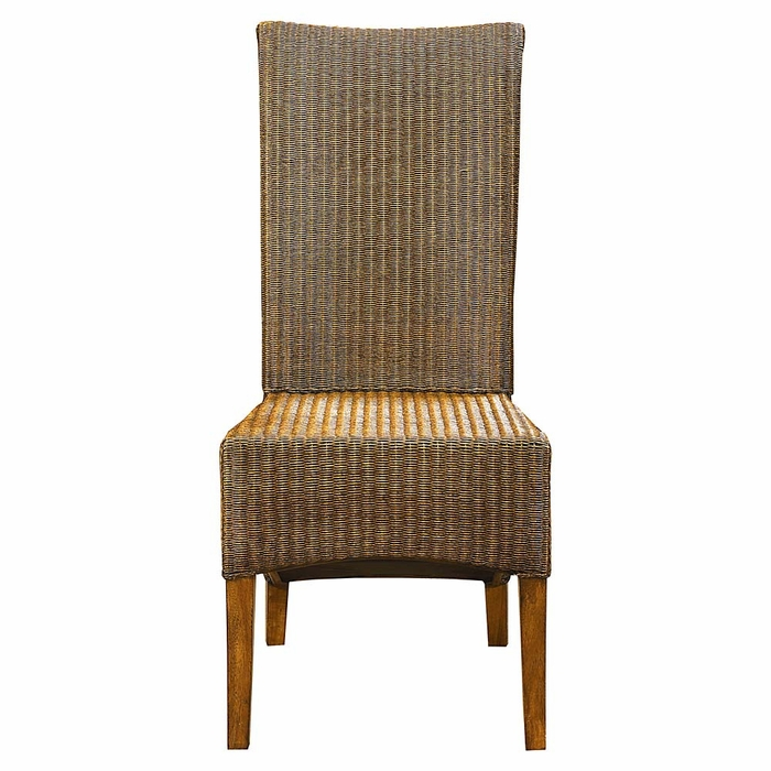 Bassett Furniture Dining Chairs: Custom Dining Woven Chair