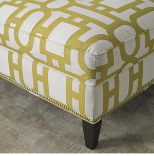 Custom Rectangular Ottoman