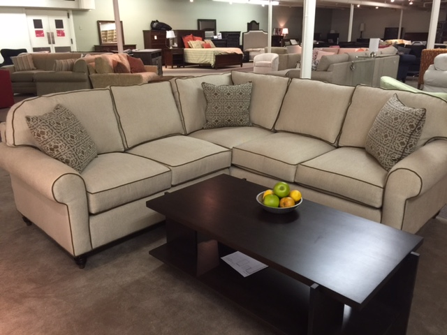 Custom Sectional by Miles Talbott Clearance Model
